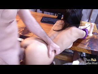 College couple horny fuck vaginal session she squirts
