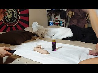 The best pegging session ever gigantic dildo painal crying bitch husband