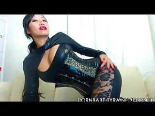 Asian mistress pornbabetyra giving you jerk off countdown