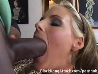 Amateur blonde fucks after interview