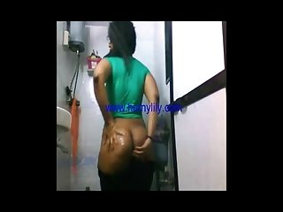 South indian with big ass shower