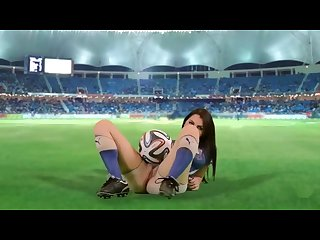 Fifa 2018 football soccer hot girls for every country on stadium