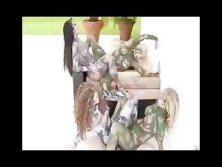 Chrimas lesbian army