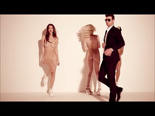 Stripdance pmv blurred lines