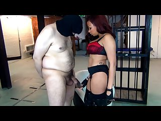 Mistress Ruby Summers finish him off