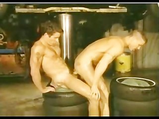 Vintage garage fuck