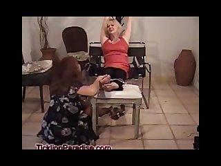 Grandma ticklish