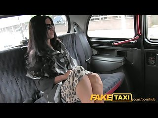 Faketaxi super hot posh totty in backseat fucking