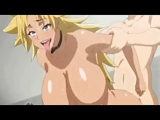 Energy pounding hentai music video