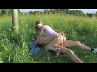 Outdoor russian sex
