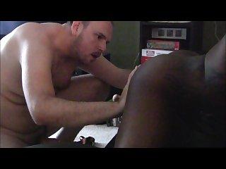 White Bear fuck black boy