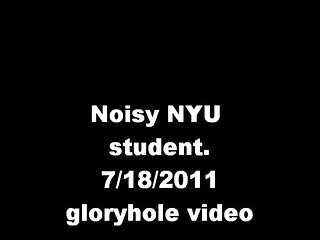 Noisy gloryhole