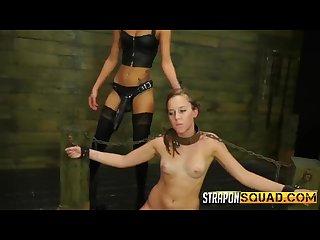 Smoking Hot Girls Immersed in BDSM Fun