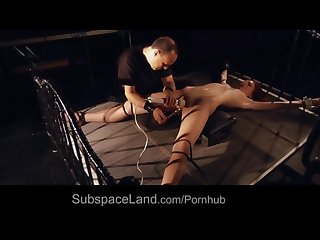 Teen sub girl humiliation bdsm training is fucked ball gagged