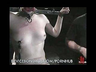 Extreme nipple torture