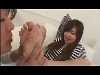 Cute japanese foot