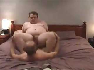 Cute chub being fucked by chaser