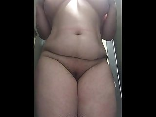 Indian milf stripping naked sex scandal mms