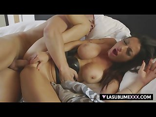 Live casting with italian milf