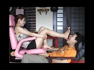 Japan foot worship