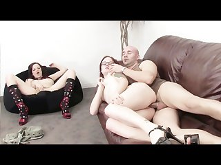 Live sex show for her birthday