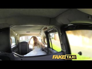 Faketaxi runaway bride needs big cock