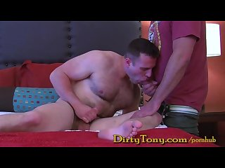Boy sucks daddy cock