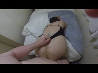 Escort fucks bareback and gets two creampies