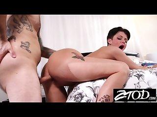 Big boob biker milf joslyn james fucked