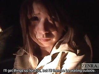 Japanese av star tubaki katou masturbates for ghosts subtitled