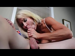 Young meat for Horny Milf handjob