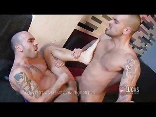 10 inch italian stud fucks hard