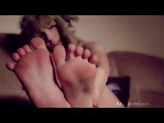 Ariel luscious feet