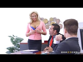Brazzers dirty blonde mild olivia fox gets fucked on the desk