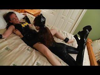 Batgurl Tickle torture