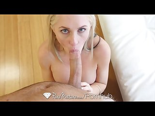 Puremature blonde milf alena croft takes a cock in her perfect ass