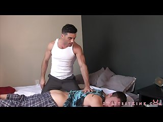 Spanked by step dad lance hart and tristan sweet