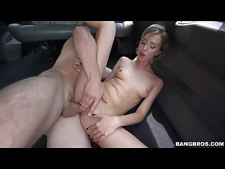 Haley reed on the bang Bus