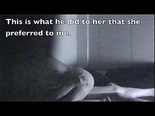 Cuckold confessions hidden cam