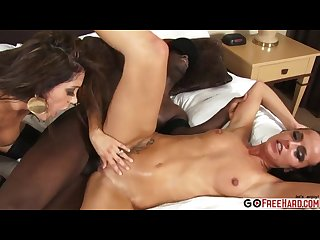 Francesca le chanel whit takes on bbc in 3 s0me