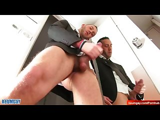 Jerem S big dick massage hetero male seduced for gay porn
