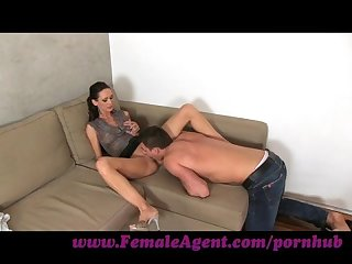 Femaleagent young stud desperate for work