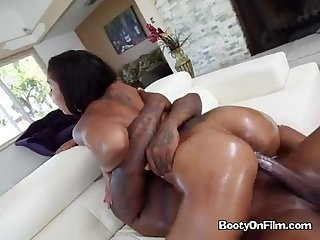 Ebony riding good dick