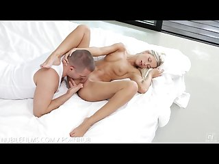 Nubile films shoot your cum in didos hungry mouth