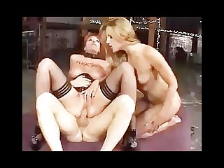 Lauren phoenix dominates kylie ireland in a threesome