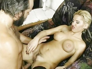 Big tits beauty fucks big cock