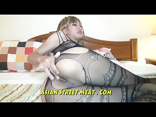 Beauiful blond asian pleading fuck my ass
