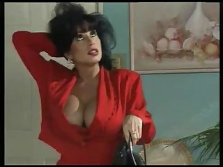 Vintage german black haired busty anal