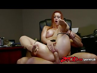Ztod karlie montana wants her employees cock