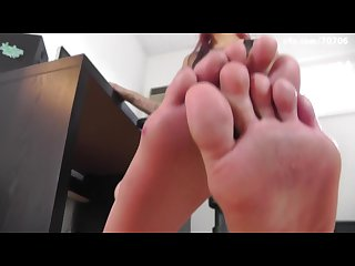 Anais jolie specia job interview foot fetish